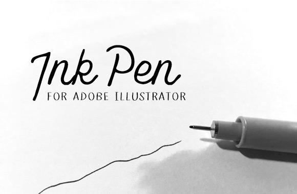 Ink Pen for Adobe Illustrator