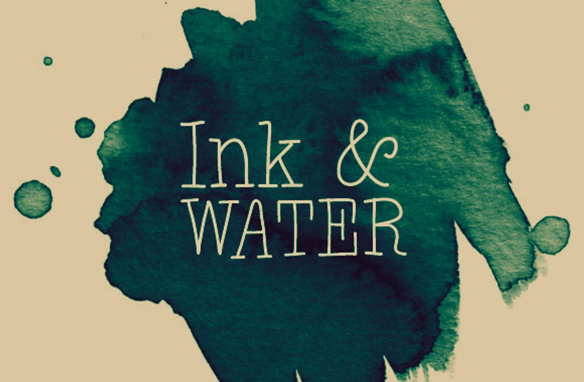 Ink and Water - Photoshop Brush Set
