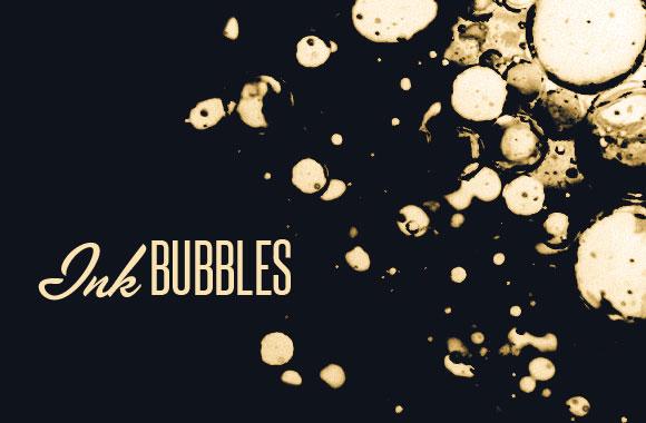 Ink Bubbles Brush Set