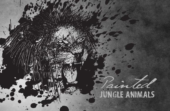 Painted Jungle Animals