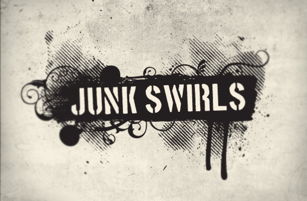 Junk Grunge Photoshop Brushes