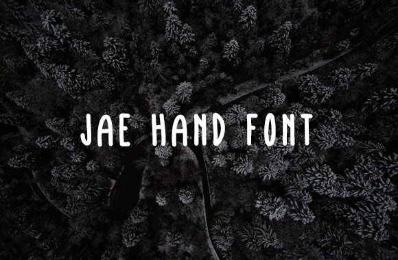Jae Hand Font