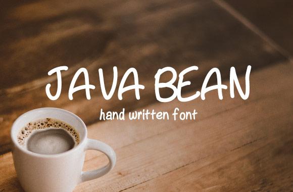 Java Bean Font