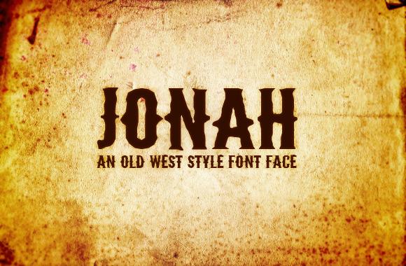 Jonah - Old West Font