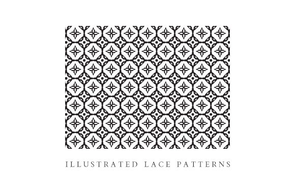 Illustrated Vector Lace
