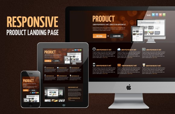 Product Landing Page - HTML/CSS Template