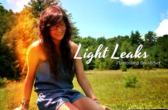 Light Leaks - Photoshop Brush Set