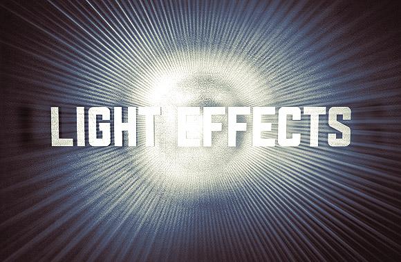 Energy light effects brushes