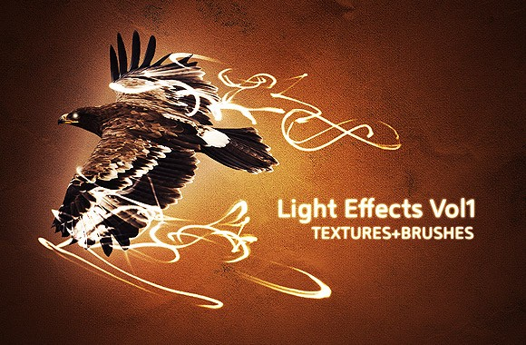 Light Effect Brushes + Textures Vol 1