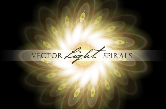 Vector Light Spirals