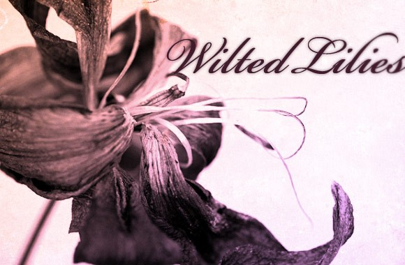 Wilted Lilies Brush Set