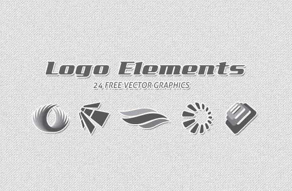 24 Free Vector Logo Elements