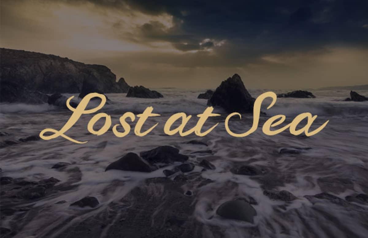 Lost At Sea Script Sea Slide 1
