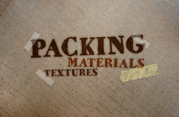 Packing Materials Texture Set