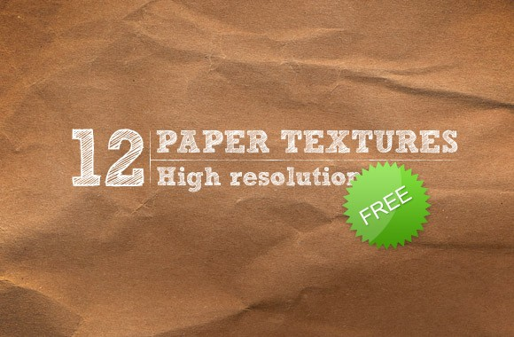 12 high-res paper textures