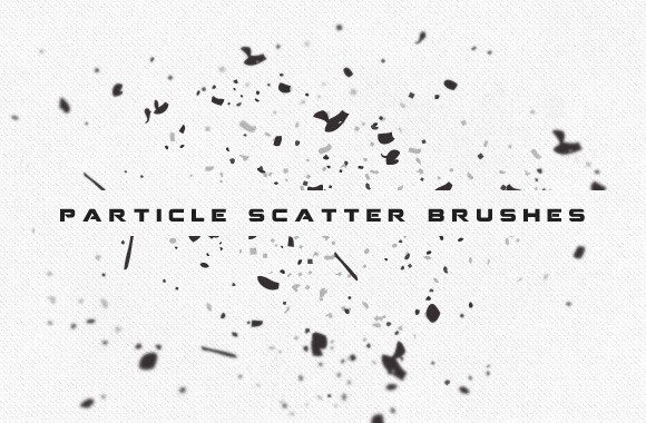 Vector Particle Scatter Brushes