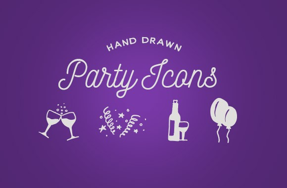 Hand Drawn Party Icons