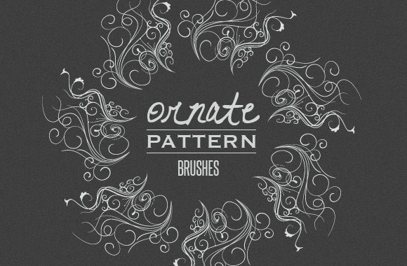 Ornate Vector Pattern Brushes
