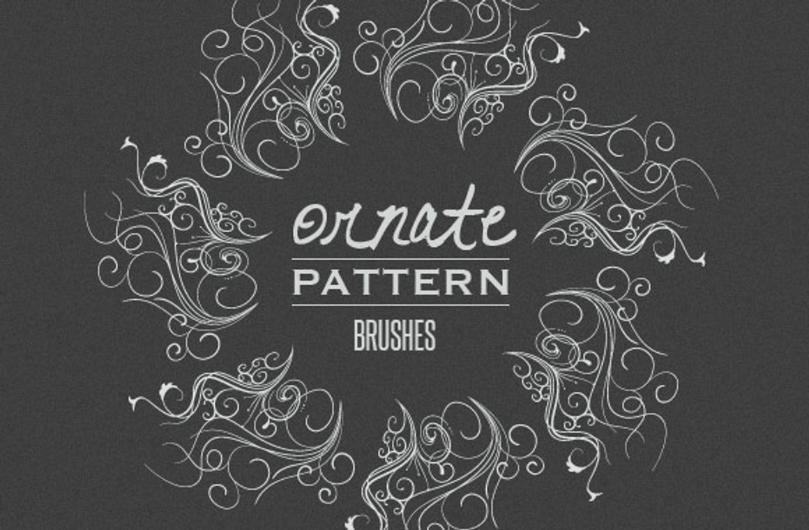 Ornate Vector Pattern Brushes