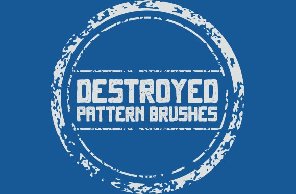 Destroyed Vector Pattern Brushes