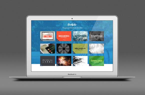 Personal - A Multi-Page Portfolio Design PSD