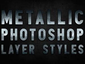 Photoshop Metal Styles 2