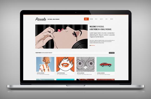 Piccolo - A Free Bootstrap HTML Theme