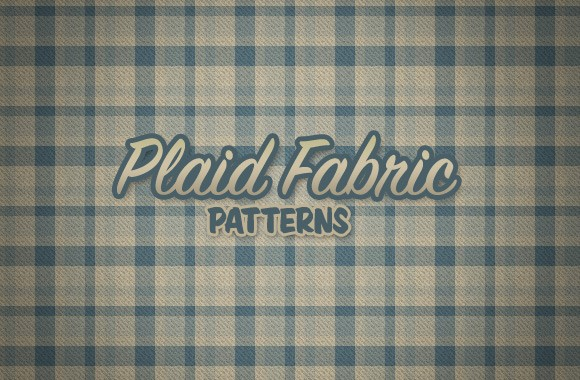 Realistic Plaid Fabric Patterns