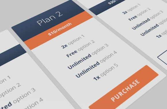 Free Responsive Pricing Table