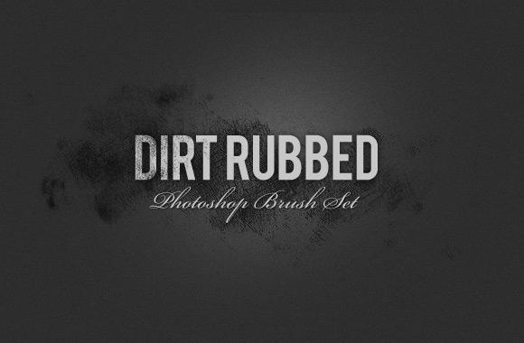 Rubbed Dirt - Photoshop Brush Set