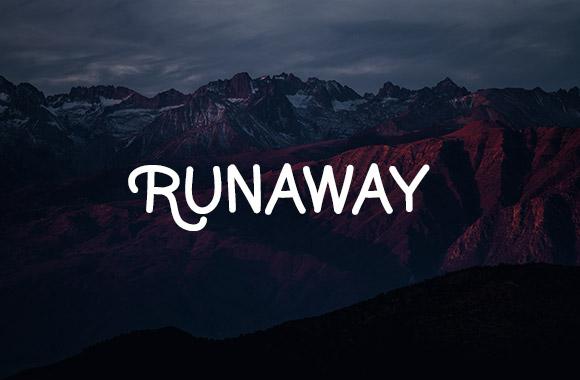 Runaway Font