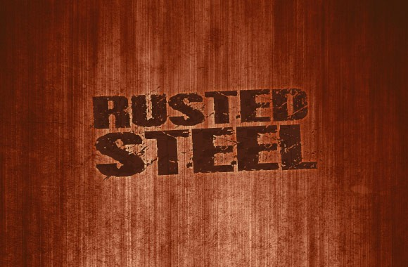 Rusted Steel - Background Textures