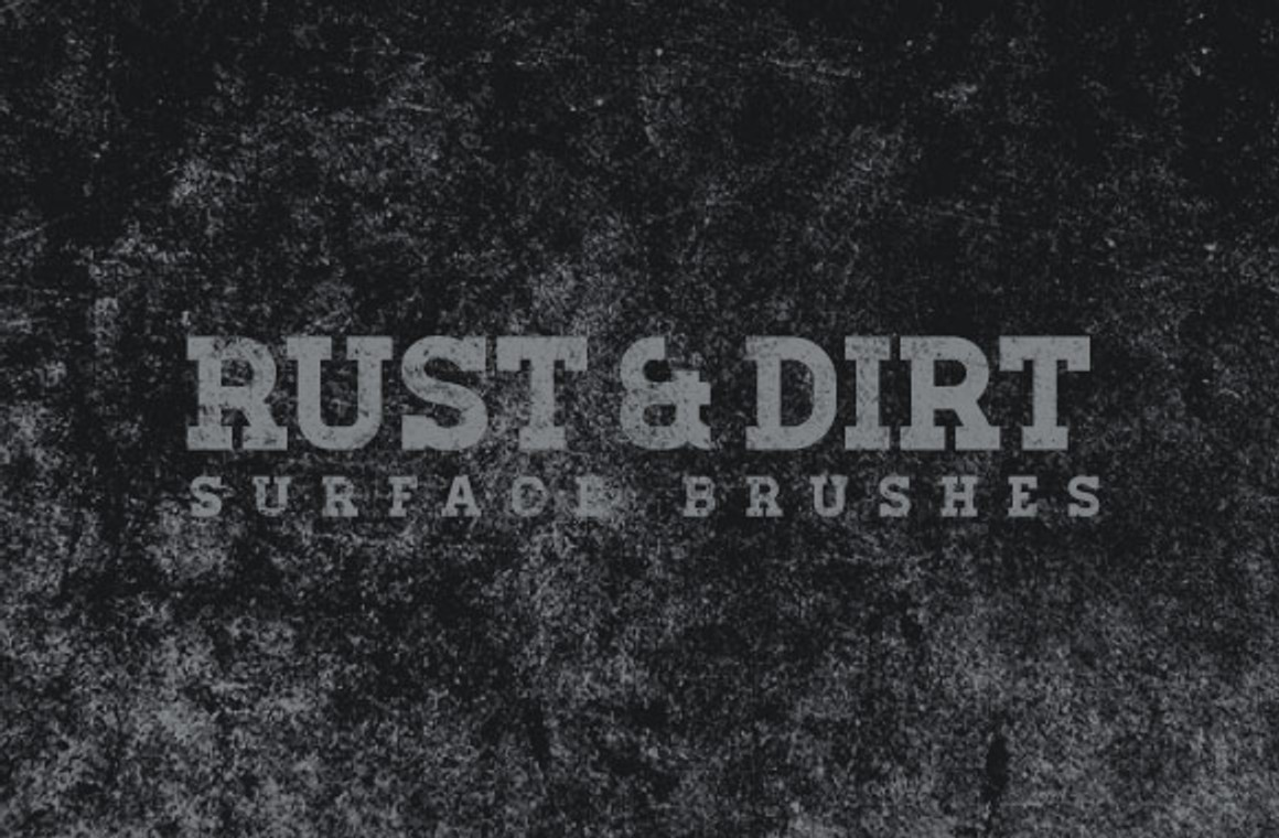 Rust and Dirt Surface Brushes