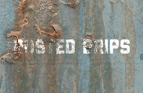 Rusted Drip Texture Collection