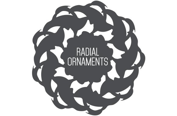 Radial Ornament Vectors