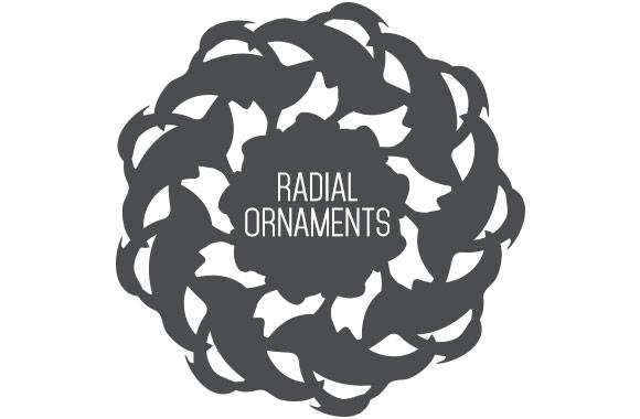 Radial Ornament Vectors