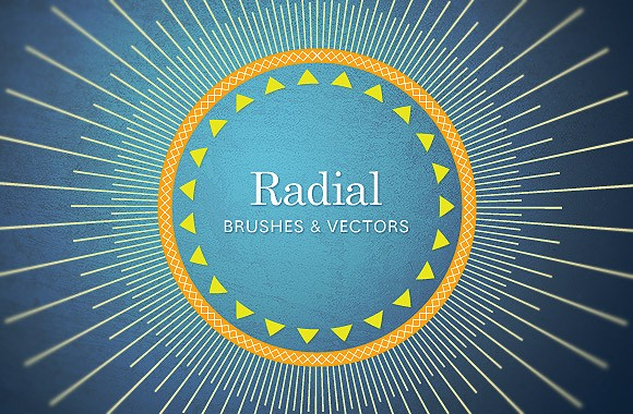 Radial brushes and vectors