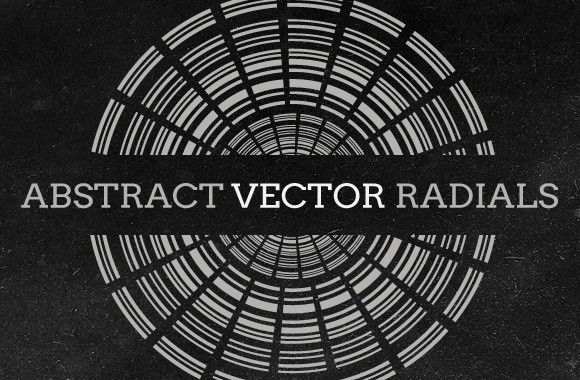 Abstract Vector Radials Collection