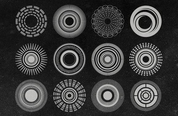 Abstract Vector Radials Collection 2