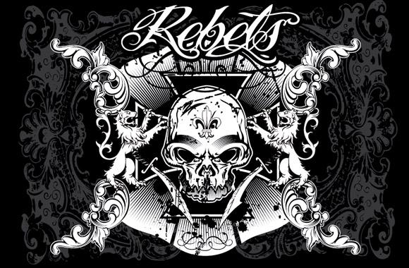 Rebels, a Free Vector Pack by Steve Santana