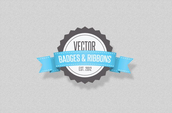 Vector Ribbons and Badges
