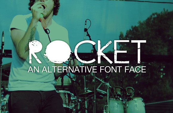 Rocket - An Alternative Web Font