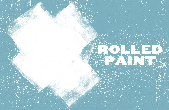 Rolled Paint Textures & Vectors