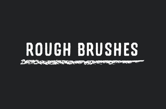 Rough Brushes for Adobe Illustrator