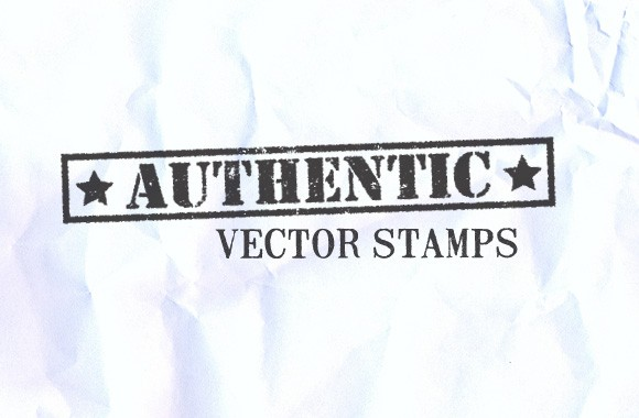 Authentic Vector Stamps