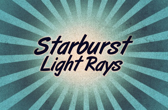 Starburst Light Rays Brush Set