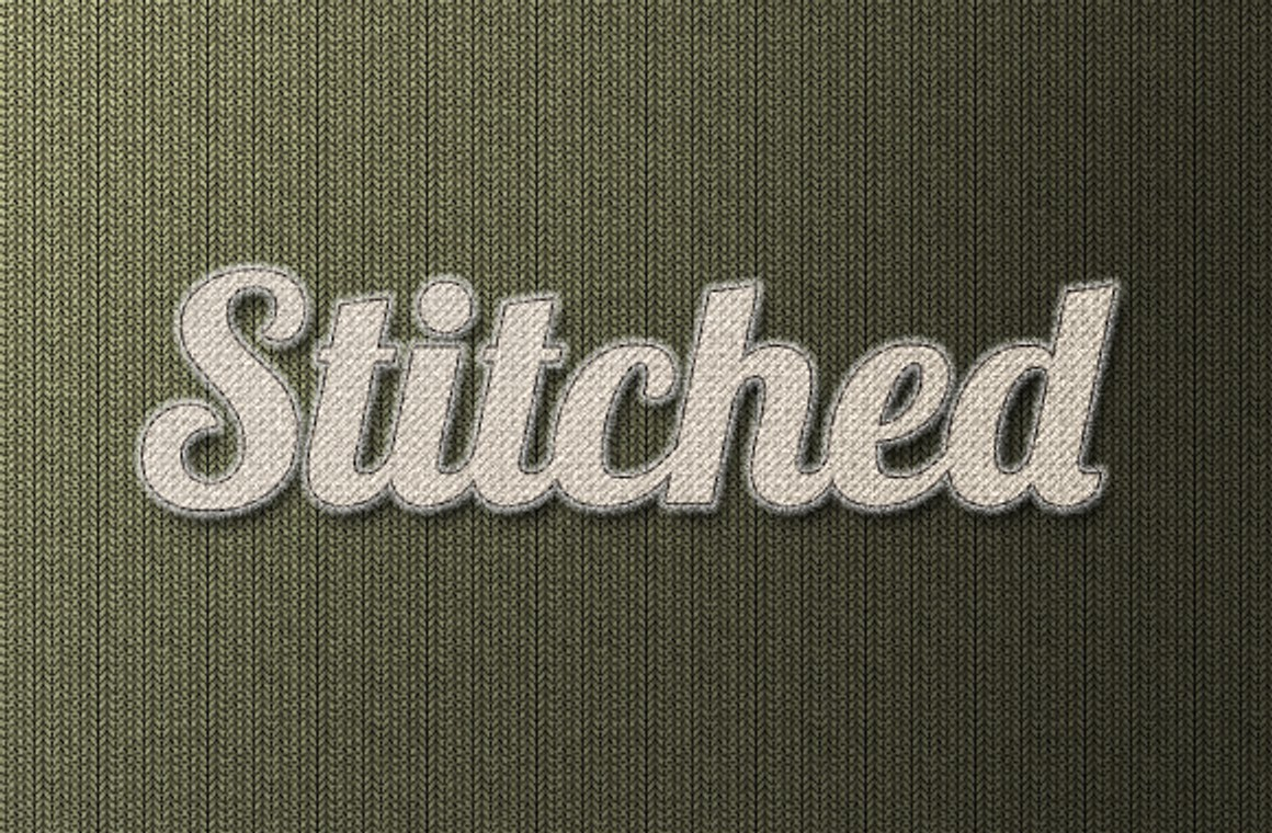 Amazing Stitched Styles and Fabric Backgrounds