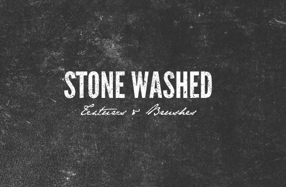 Stone Washed Textures and Brushes Pack