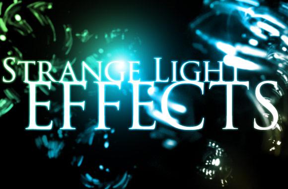 Strange Light Effects