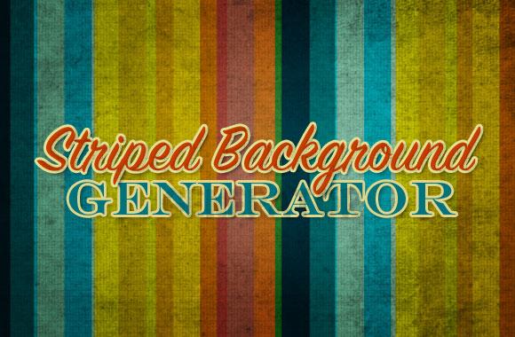 Striped Background Generator